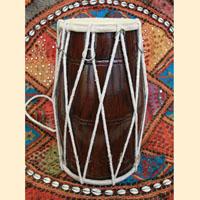 Барабан CHM2005A Dholak Spl. Rope h~39sm