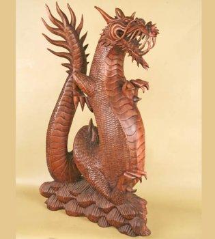 Скульптура 'Дракон'.85см