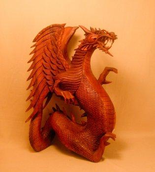 Скульптура 'Дракон'. 50 см.