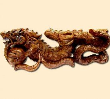 Скульптура 'Китайский дракон'.50см