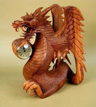 Часы 'Дракон'. 35 см.