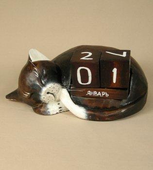 Календарь 'Спящий кот'