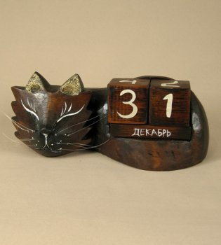 Календарь 'Усатый кот'
