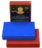Опорный блок для йоги и фитнеса Bodhi 30.5х20.5х5, плоский