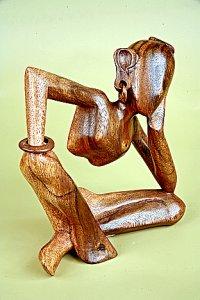 Мини-скульптура 'Размышление'.20см Арт. SCA19XS